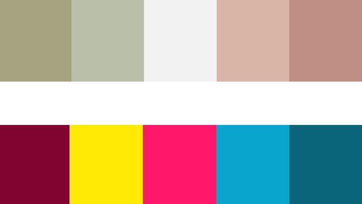 C mo elegir y utilizar los colores en tu p gina web for Cuales son los colores minimalistas