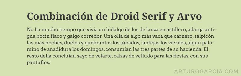 comb-droid-serif-y-arvo