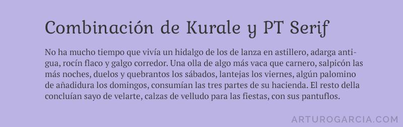 comb-kurale-y-pt-serif