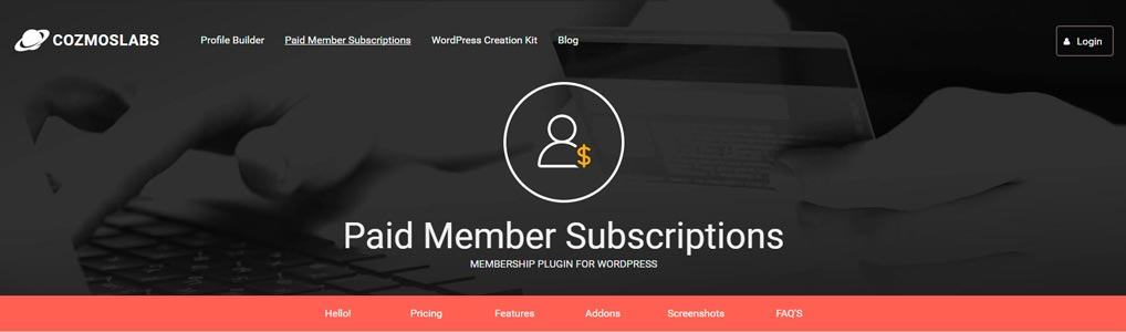 paid-member-suscriptions