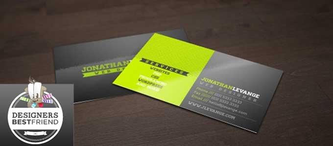 7581e1adb6f76 20 plantillas en PSD para crear tarjetas de visita gratis
